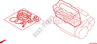 GASKET KIT A dla Honda CBR 1100 SUPER BLACKBIRD 2002