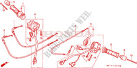 SWITCH/CABLE Frame 1100 honda-motocykl CBR 2002 F__0300