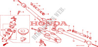 HANDLE PIPE/TOP BRIDGE dla Honda CBR 600 F2 1994