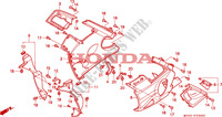 LOWER COWL dla Honda CBR 600 F2 1994