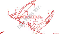 SIDE COVERS dla Honda CBR 600 F2 1994