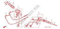 SWITCH/CABLE/HANDLE LEVER (2) Frame 1100 honda-motocykl CBR 2007 F_03